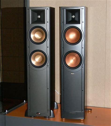 klipsch rf 82 killer values high performance speaker systems seen at cedia part 2 hi fi