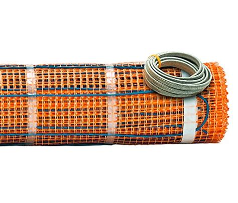 Electric Radiant Heat Mat - best electric radiant floor heating system reviews guide