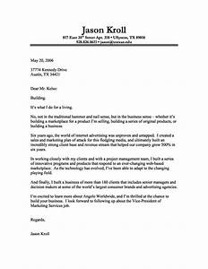 cover letter format creating an executive cover letter With how to right a covering letter
