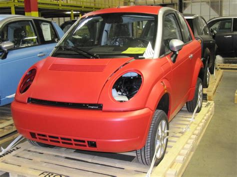 Think Electric Car by Assembly Of Think City Electric Cars Elkhart Indiana
