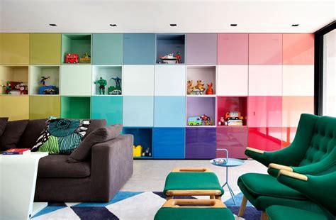 colorful  vibrant home interior  guilherme torres