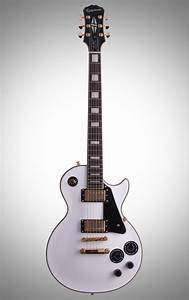 Epiphone Les Paul Custom Pro Electric Guitar  Alpine White