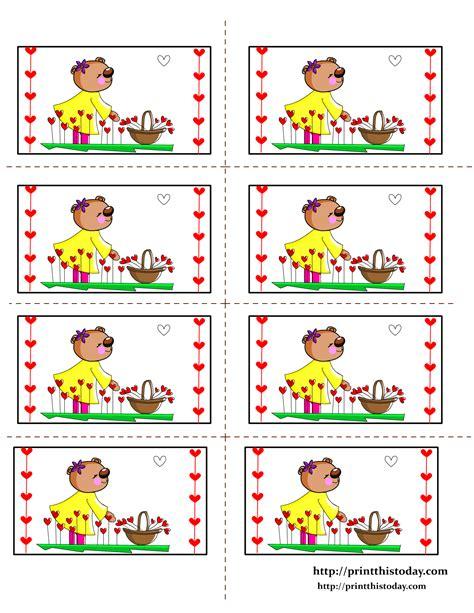 printable teddy bear labels
