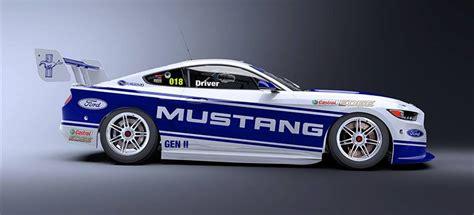 ford mustang the supercars menu