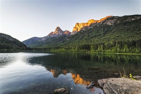 hozomeen lake north cascades national park sunset andy porter images