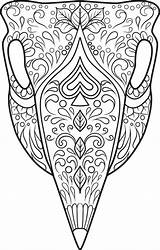 Skull Coloring Sugar Skulls Printable Animal Adult Candy Colouring Dead Doodle Kidspressmagazine Cow Coloriage Sheets Dessin Dialogue Colorier Mandala Mandalas sketch template