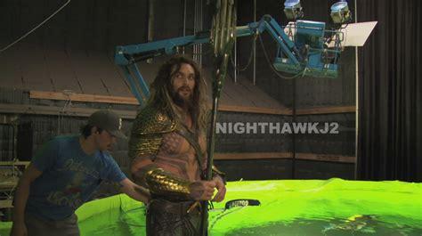 check out how aquaman cyborg and the flash filmed their cameos for batman v superman