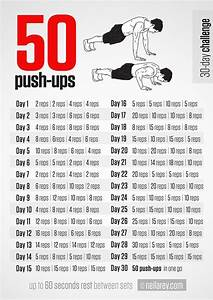 Neila Rey's 30 Day 50 Pushup - Coregasms - By Women For ...
