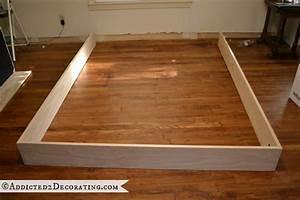 Timber Bed Frame Plans Bed Frame Blueprints Free Farmhouse