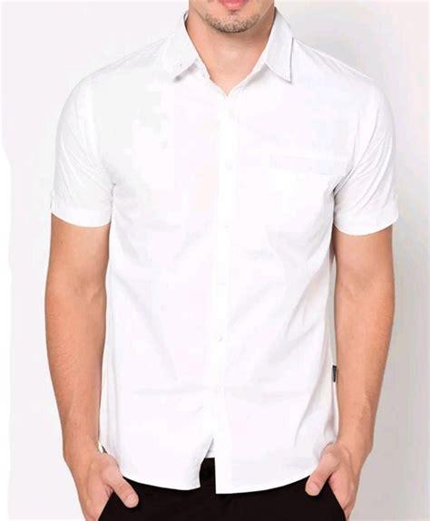 kemeja cowok murah batik murah kemeja pria putih cowok jual kemeja pria mulomen 57 putih kemeja