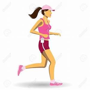 Woman Running Clipart – 101 Clip Art