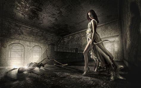 dead death decay lost soul skeleton dark fantasy gothic