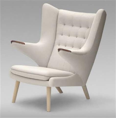 Hans J Wegner Style Papa Chair by Scandinavian Modern Designergirlee
