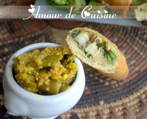 brick de poulet au curry recette en amour de cuisine
