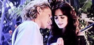 gif the mortal instruments Lily Collins jamie campbell ...