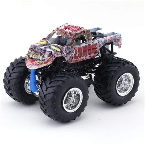 monster jam toys trucks wheels zombie die cast truck monster jam figure series