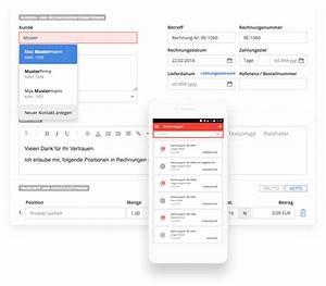 Rechnung Nicht Bezahlt Wann Sperrt Vodafone : rechnung schreiben einfach schnell mit sevdesk ~ Themetempest.com Abrechnung