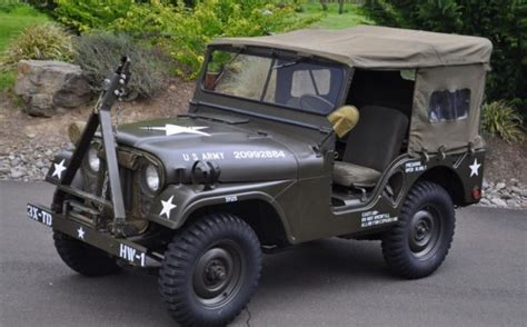 willys army jeep 1953 willys military army m38a1 jeep for sale photos
