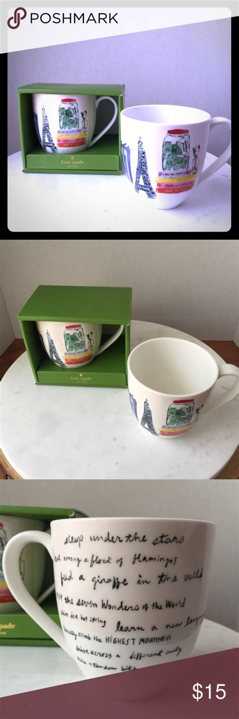 Just walk over and harvest your beans when they ripen from your arabica coffee plant. Kate Spade Muses Adventurer Mug by Lenox NWT | Mugs, Kate spade, Spade