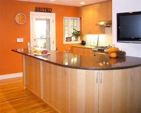 orange kitchens with white cabinets couleur peinture cuisine 66 id 233 es fantastiques 7208