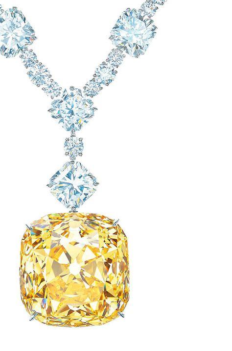 Tiffany Yellow Diamonds Jewelry Collection