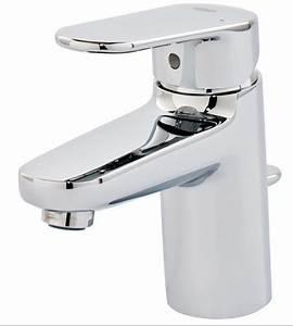 Mitigeur Grohe Lavabo : mitigeur de lavabo europlus grohe 33991002 robinetterie ~ Dallasstarsshop.com Idées de Décoration