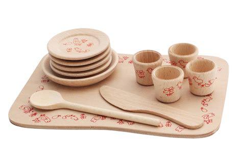 cuisine dinette en bois dinette en bois sur plateau jeu de dinette fabriqué en