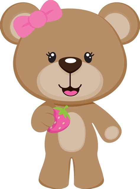 Teddy Clipart Pin By Pic Pic Festas On Urso Clip