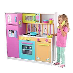 Amazoncom Kidkraft Deluxe Big & Bright Kitchen Toys & Games