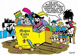 The Magna Carta By toons | Politics Cartoon | TOONPOOL