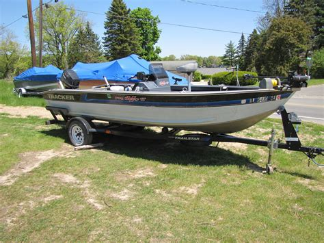 Fishing Boats For Sale Edmonton Area by 1991 Tracker Deep V 17 Fishing Boat 3500 All Things