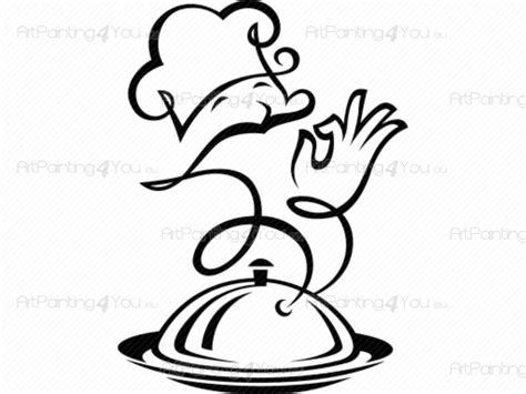 coutellerie cuisine stickers muraux cuisinier artpainting4you eu vds1019fr