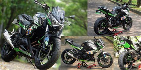 Harga Kawasaki Z250 Mofif by Modifikasi Z250 Otomotif Keren