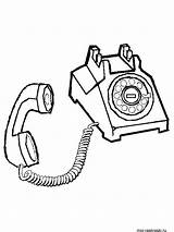 Coloring Phone Telephone Printable Colouring Drawing Sheets Clipart Cell Toys Cartoon Call Popular Getdrawings Library sketch template