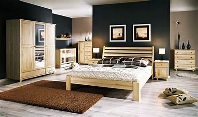 Bedroom Luxury Furniture Interior Windows Landscape Wife