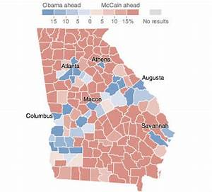 Georgia - Election Results 2008 - The New York Times