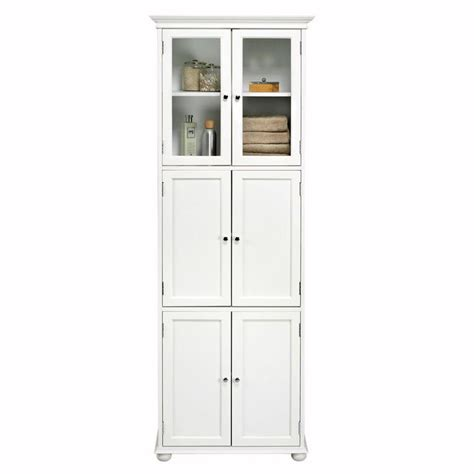 Home Depot Bathroom Cabinets Storage by Home Decorators Collection Hton Bay 72 In H X 25 In W