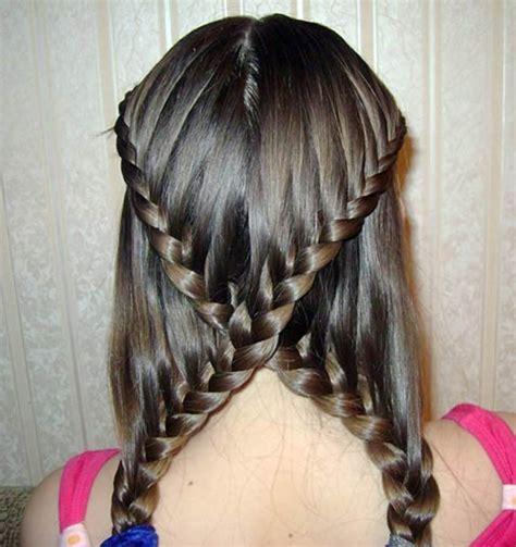 einfache frisuren fuer lange haare archzinenet