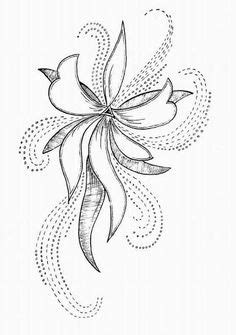 Free Simple Hand Embroidery Patterns | motif pattern will