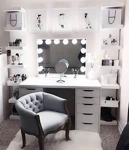 Zimmer Einrichten Ikea : schminktisch aufbewahrung in 2019 zimmereinrichtung schlafzimmer und zimmer einrichten ~ A.2002-acura-tl-radio.info Haus und Dekorationen