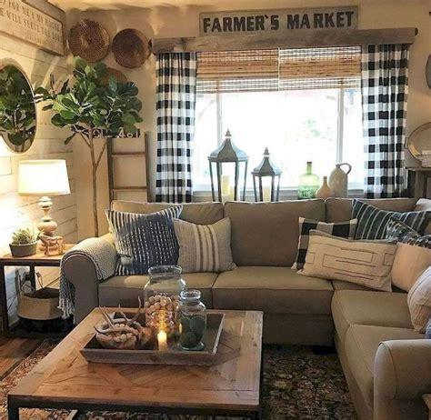 awesome rustic farmhouse living room decor ideas