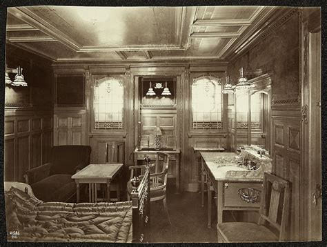 Sinking Elementary Suites by Titanic Interior Creator R Welch Photographer Date