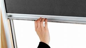 store occultant pour fenetre de toit velux r cadre gris With store interieur pour velux