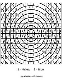 color by number letter u advanced color by number coloring pages - Advanced Coloring Pages Letters
