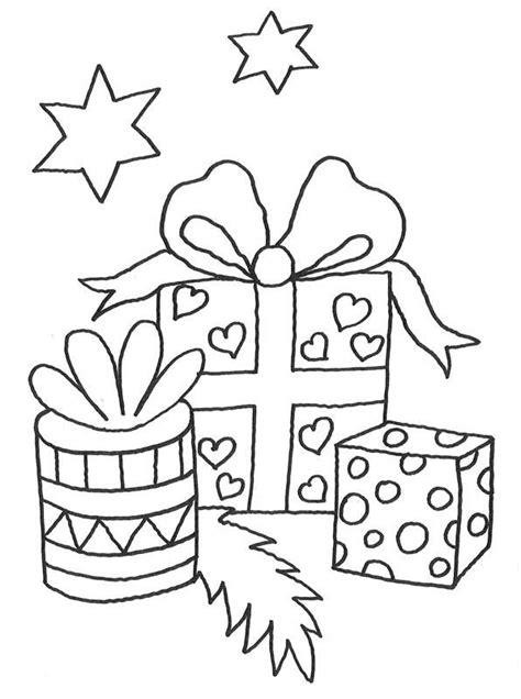kostenlose malvorlage weihnachten geschenke zum ausmalen