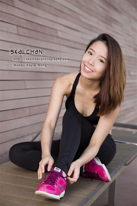 fitness photo shoot kayla wong skai chan photography