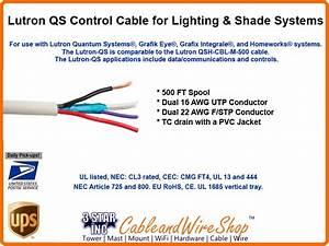 Lutron 2c 22awg  2c Quantum Systems Cable Grafik