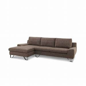 canape quottrendyquot marron angle gauche With canape d angle gauche marron