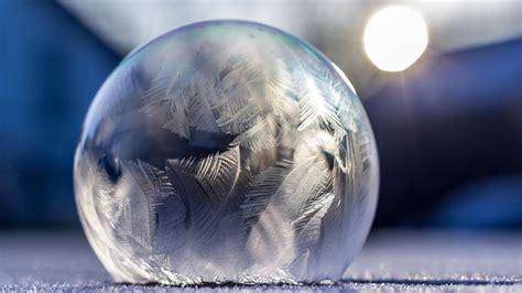 frozen bubbles gefrorene seifenblasen timelapse