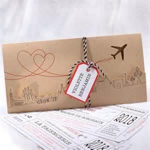faire part mariage billet d avion best 25 faire part original ideas on